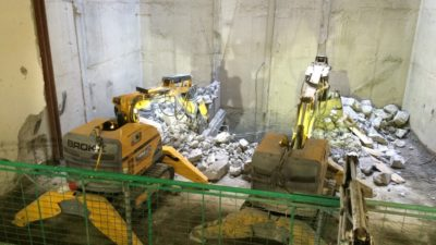 John Tinnelly & Sons Ltd Purchase their 3rd Brokk Robotic machine   1