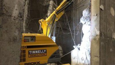 John Tinnelly & Sons Ltd Purchase their 3rd Brokk Robotic machine   2