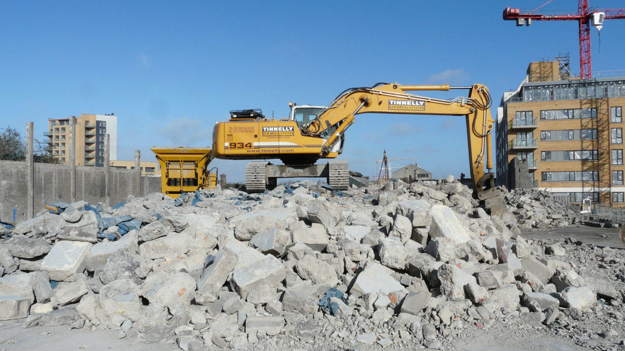 Concrete crushing 1