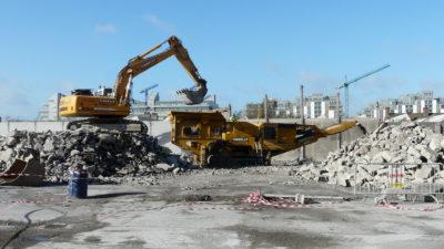 Concrete crushing 3