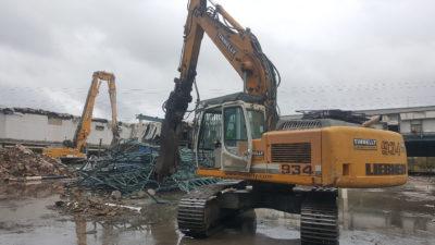 Equinix Mechanical Demolition 1