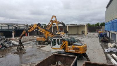 Equinix Mechanical Demolition 3