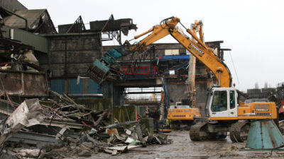 Irish Sugar mechancial demolition 2