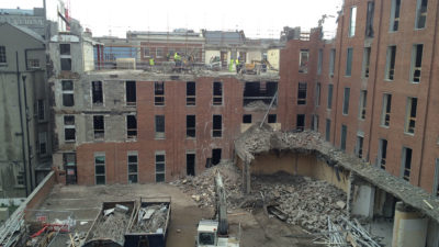 Molesworth Street Demolition 14