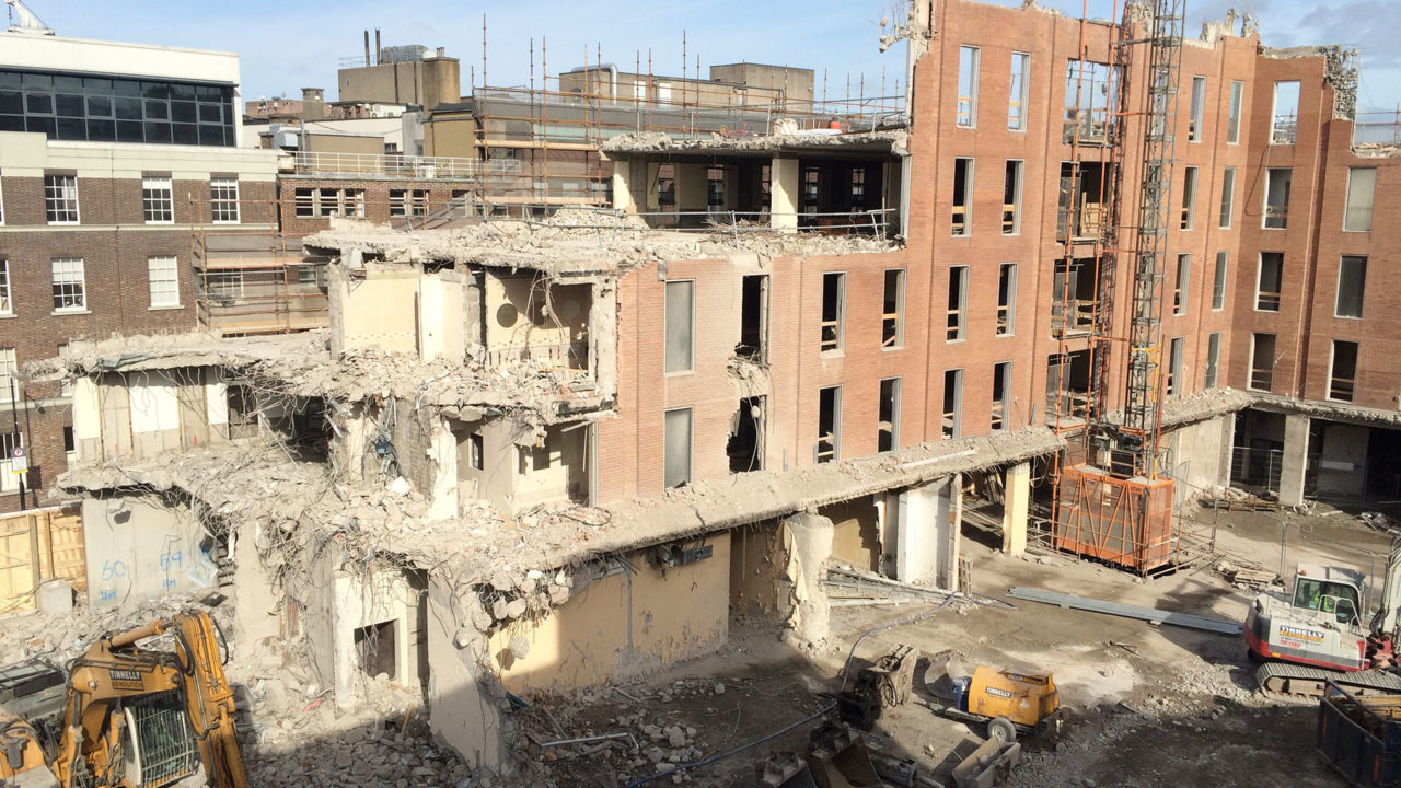 Molesworth Street Demolition 31