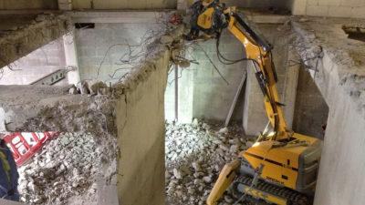 National Gallery robotic demolition