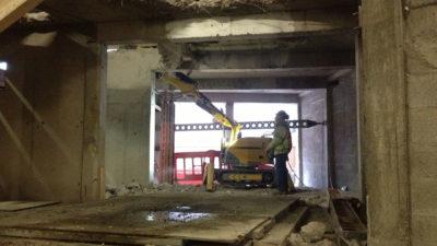 Robotic Demolition 1