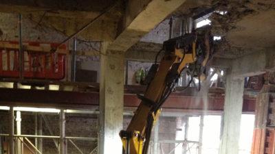 Robotic Demolition 3