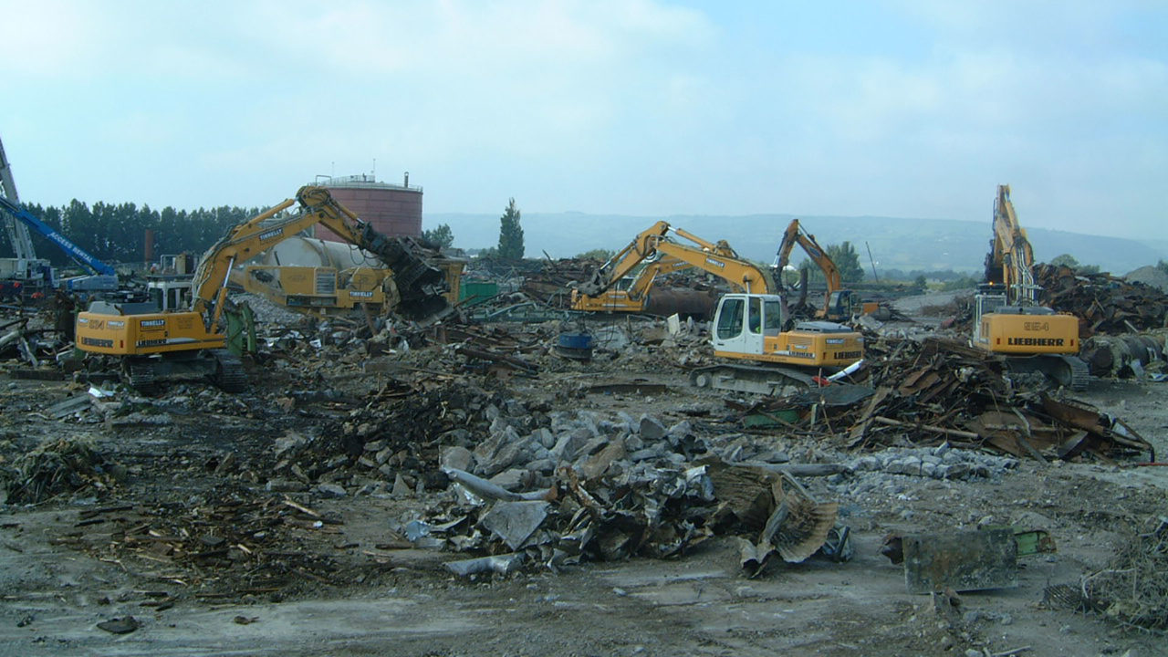 Site clearance mechanical demolition 2