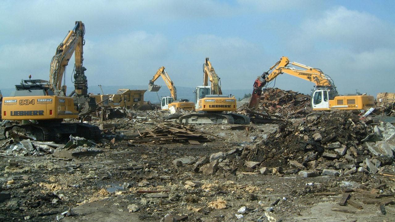 Site clearance mechanical demoliton 1