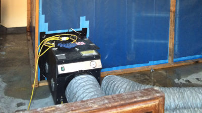 Work underway on asbestos removal